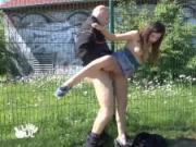 Outdoor Public Doggystyle Amateur Pov German Compilation