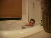 Take a peek at Amanda in the bath