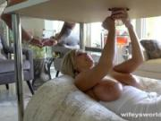 Big Tits MILF Massage And Cum Facial