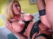 Big tits pornstar hardcore with facial