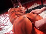 BadTimeStories - Lesbian Kink Circus Domination With Goth Babe Leah Obscure