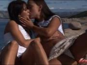Norwegian college girls outdoor lesbian fun