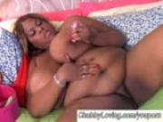 Beautiful big tits black BBW