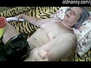 A masked man licking and fucking old granny mature woman