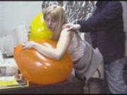 Office Balloon Sex