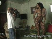Photographer Nails Hot Ebony Model
