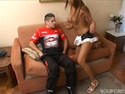 Sexy Latina shemale gets fucked - Latin-Hot
