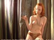 Redhead smoking movie