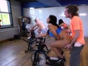BANGBROS - Latina Rose Monroe's Sexercise Spin Class ap16089