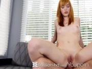 Passion-HD - Redhead Anny Aurora sensual morning bath anal
