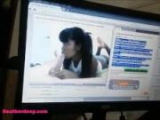 Tiny Asian Thai Teen Heather Deep Gets Creampie after Webcamming fans not tipping today