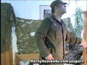Uniformed Army Girl Get Banged