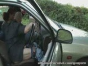 Dogging public sex in car park Amateur UK