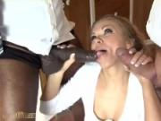 Black man have that certain reputation, and this horny girl gets to live her dream!