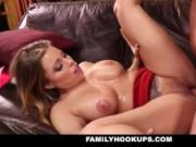FamilyHookUps - Busty Blonde Slut Fucks Her Brother-In-Law
