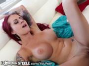 Lex Steele Shoves his BBC All the Way In Busty Tatted Chick's Box