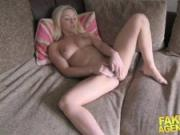 FakeAgentUK Petite Scottish stripper gets deep pussy fucking in hardcore casting