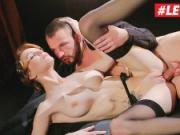LETSDOEIT - SMOKING Czech Babe Surprises Client with Anal Sex