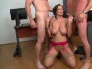 Sheila Grant In Office Blow Job