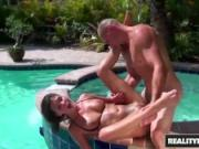 Reality Kings - From hot tub to fucking, Erin Stone sucks cock and gets pounded