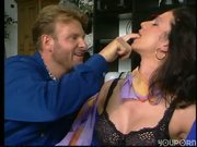 Naughty maid likes to use her fist - DBM Video