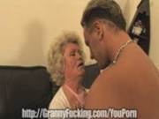 golden granny gets plowed