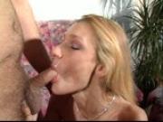 She gets a cum goatee