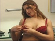 Catarina Strokes Her Clit