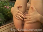 """Yvonne gets to know herself"""" by the pool"""