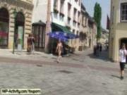 Hanka It´s public nudity time