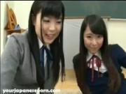 Horny school girls panty flashing teachers