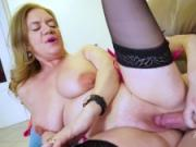 Two boys with big dicks fucking with sexy matures