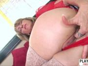 Lovely Step Mommy Caelea Starr Gives Titjob Sweet Tender Bud