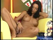 Beautiful brunette Gina demonstrates what she likes to do to a dick - DBM Video