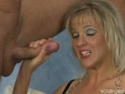 Hot blonde distracted from her chess game sucks and fucks a mean cock