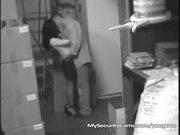 Slut Gets Fucked By Co-worker In Warehouse