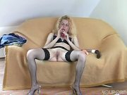 Horny chick with two dildos - Acheron