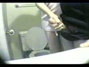 Bathroom Handjob