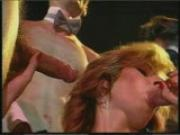 Two Girls Give Blowjob To Many Guys
