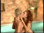 Compilation of hot European women in group and lesbian scenes.