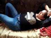 borracha dormida en sofa 1