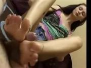 Delicia Deity Sexy Footjob