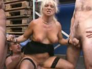 Old sluts gangbanged by german movers