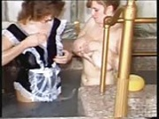 Titanic Toni Frances and girlfriend bathing.