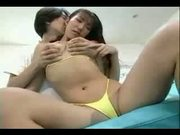 Japanese young cpl have fun - female friendly -