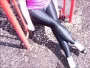 Spandex Angel- Spandex at the park