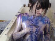 Crazy Girl Masturbate In The Shower
