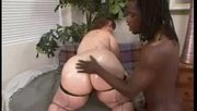 Big White Ass Meets Black Dick