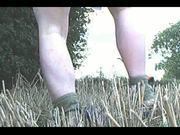 Anal in a field #01