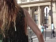 Parisian Girl sideboob summer